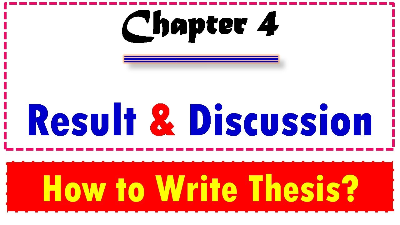 Write chapter four dissertation professional masters expository essay topics