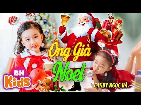 ÔNG GIÀ NOEL ♫ Candy Ngọc Hà ♫ Nhạc Noel Thiếu Nhi Sôi Động - ĐÍNH ĐONG ĐÌNH ĐONG [MV 4K]