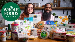 Can Whole Foods 365 Vegan Line Stack Up To Name Brands? | Vegan Grocery Haul / Taste Test