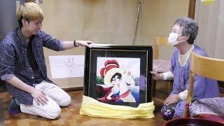 手塚治虫大ファンのおばあちゃんに手塚先生の絵をプレゼントしました