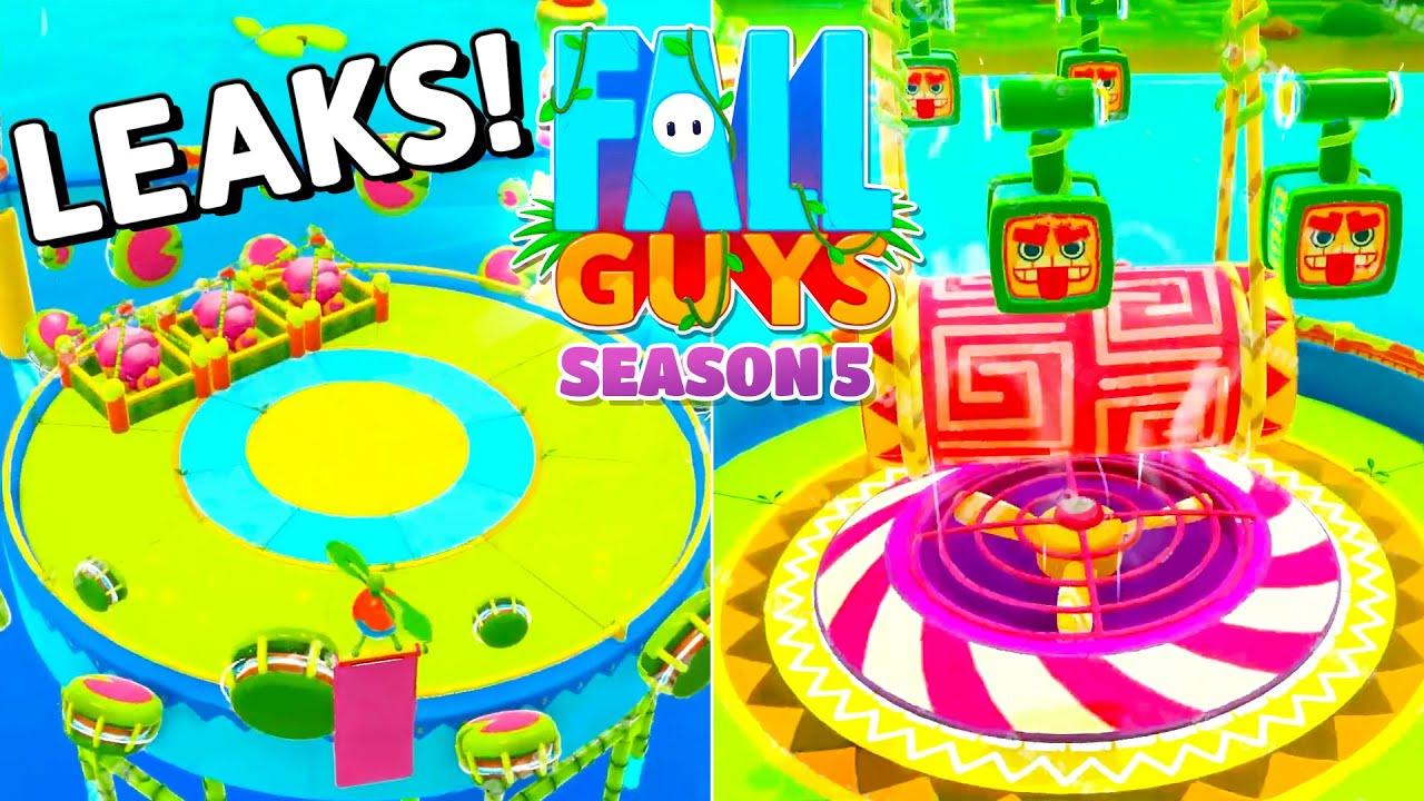 2 NEW MAPS FOR SEASON 5!! 😍😍 - Fall Guys WTF Moments #84 (Season 4)