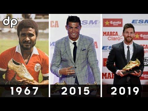 🔥 Все Обладатели Золотой Бутсы в Истории 1968-2019 🔥