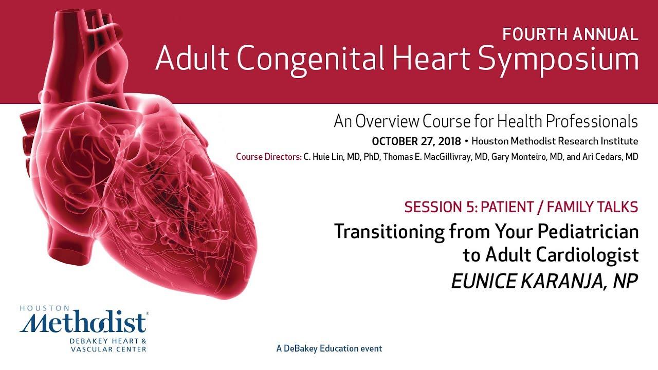 Transitioning from Your Pediatrician to Adult Cardiologist (Eunice Karanja, NP) #cardiology