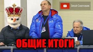 ИТОГИ ПЕРВОГО ЭТАПА Кубок России по Фигурному Катанию 2020 в Сызрани