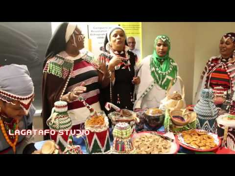 Oromo Cultural food show on book launch day