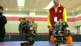 В Японии прошли очередные бои роботов