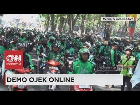 Demo Ojek Online di Gedung DPR, Ribuan Personel Polisi Berjaga