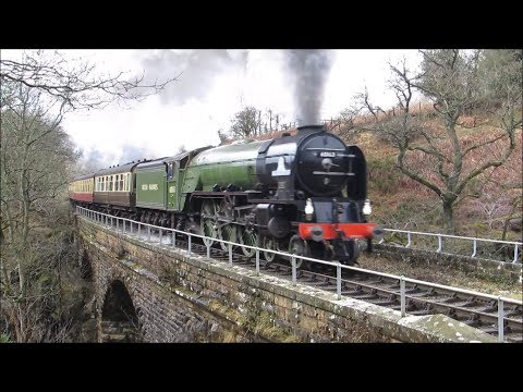 North Yorkshire Moors Railway, Tornado Week, 6th to 9th March 2018