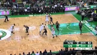 Boston Celtics Offensive Highlights vs. Nets (11/20/2015)