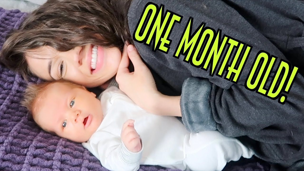 one-month-baby-update