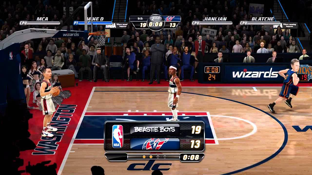 NBA JAM: On Fire Edition (Beastie Boys Gameplay). - YouTube