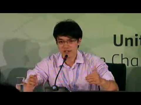 US-China Youth Press Conference at COP 17 in Durban