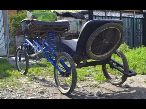видео: Велосипед с коляской. УЖАС на колесах!