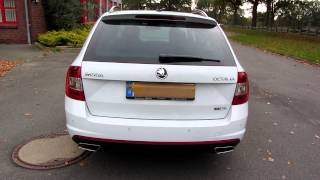 Skoda Octavia 5E RS TDI 2.0 TDI 184 HP + Active Sound Exhaust System (Sound Aktuator)