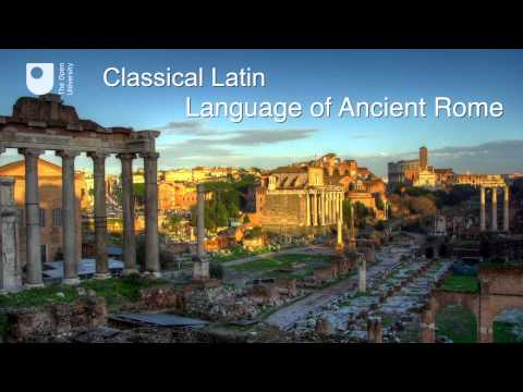 Classical Latin: the language of ancient Rome