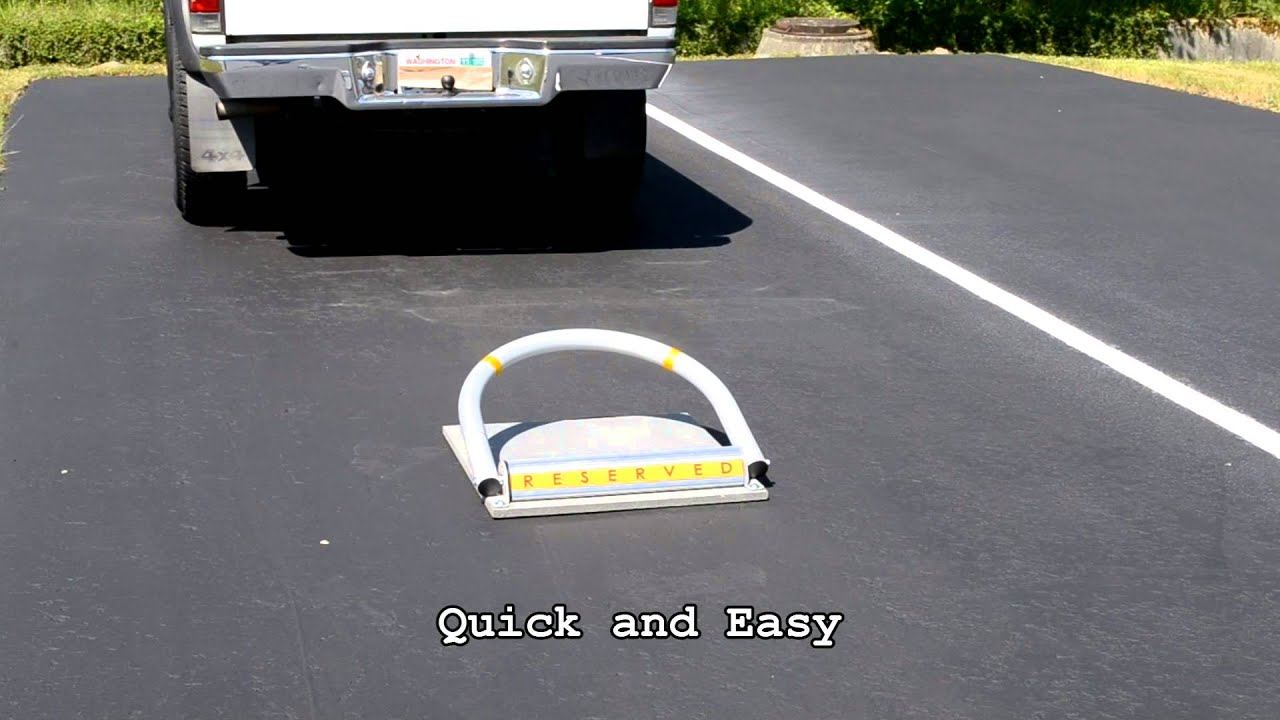 MySpot 500 Remote-Controlled Parking Barrier