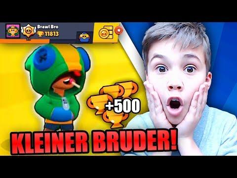 MEIN KLEINER BRUDER Spielt SHOWDOWN & RASIERT ALLE!! • Brawl Stars Deutsch