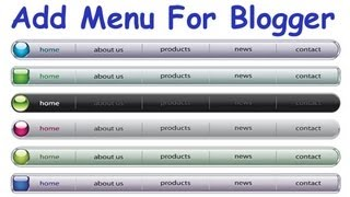 How To Add Navigation Menu In Blogger