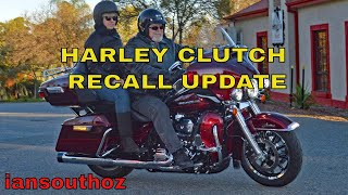 Harley Davidson Clutch Recall Update and CB750 Test Ride