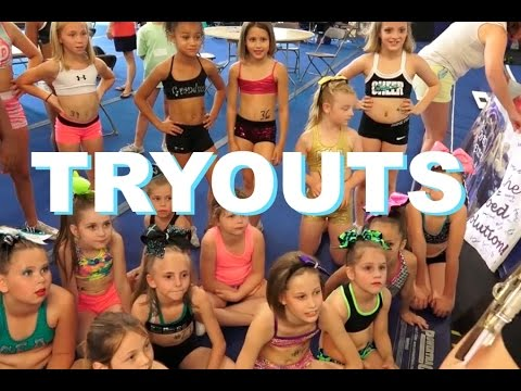 Cheer Extreme Tryouts 2015