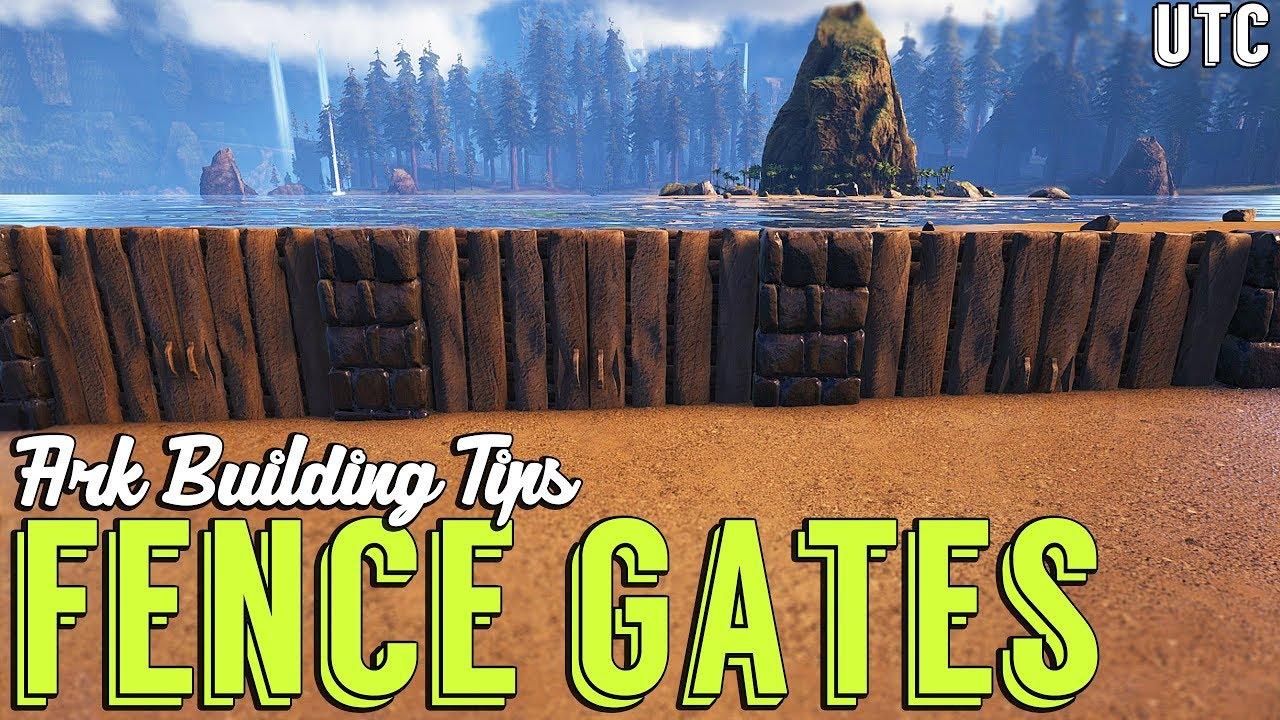 How To Make Garden Gates (S+) :: Ark Building Tip #4 :: S+ Ceiling and  Double Door Building Trick