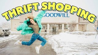 THRIFT SHOPPING W/ ME + HAUL!