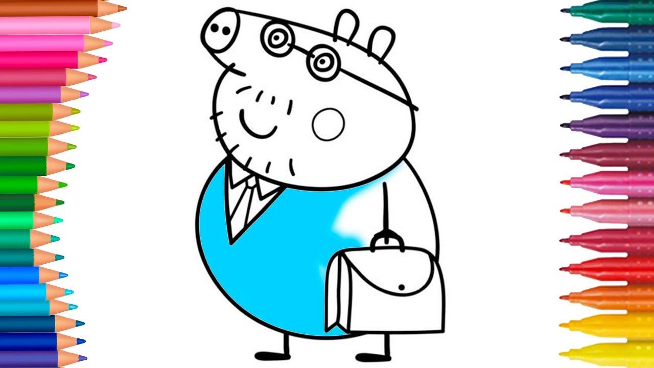 Peppa Pig Parte 6 Juego De Pintar Manos Pequenas Dibujos Para