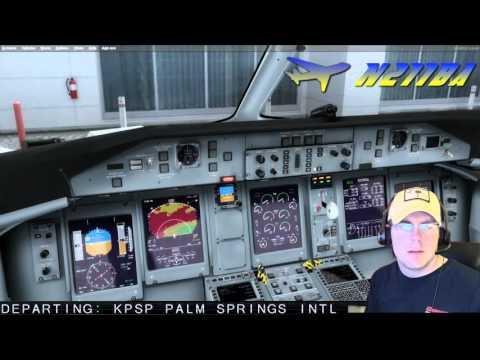 PilotEdge Q400 IFR KPSP-KLAX