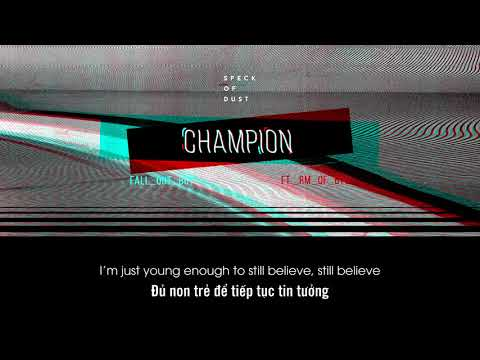 [VIETSUB] Champion (Remix) || Fall Out Boy ft. RM of BTS