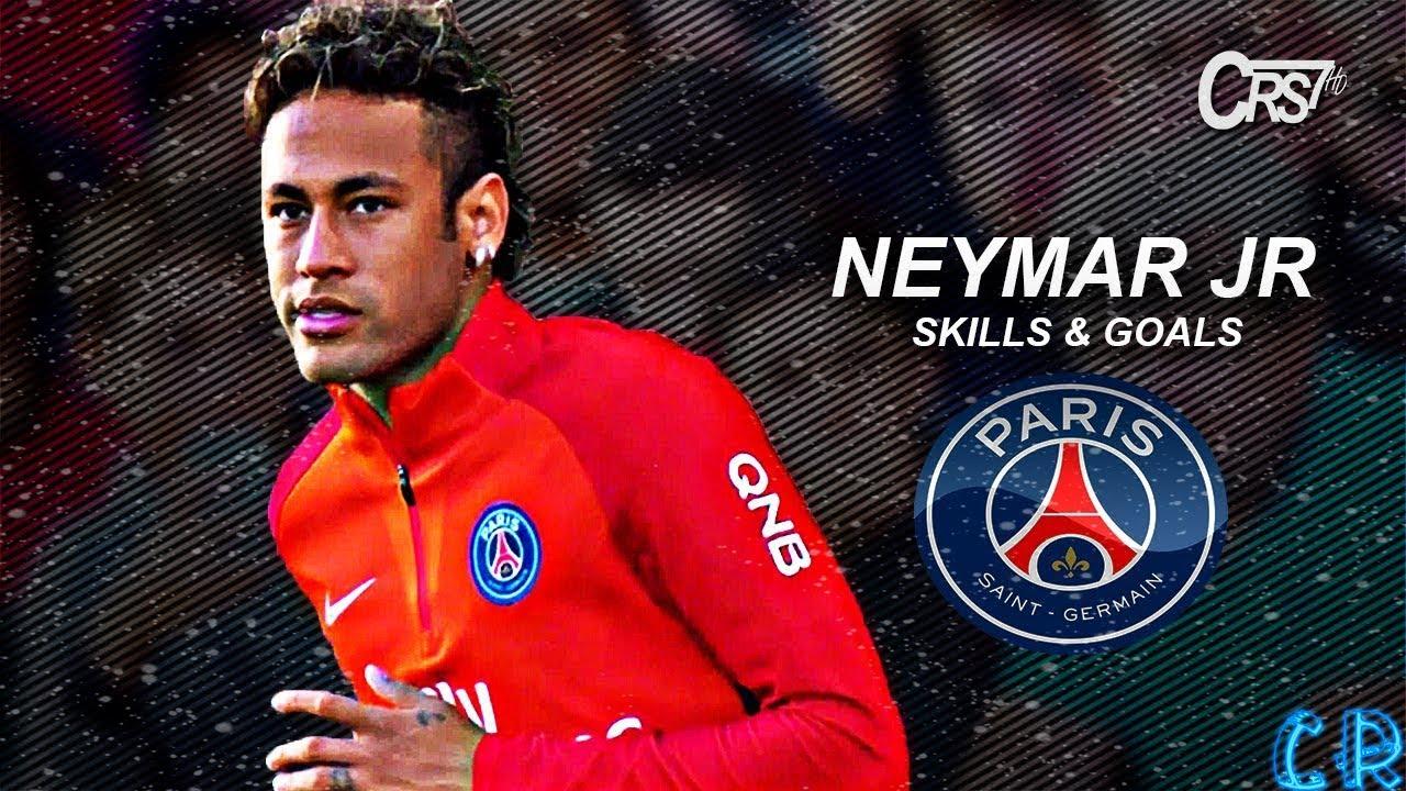 Neymar Jr 2018 PSG Голы и финты ᴴᴰ - YouTube