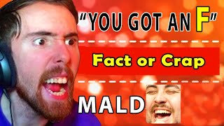 Asmongold RAGES Over An  MPOSS BLE WoW Quiz...