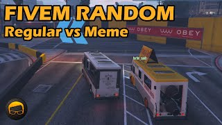 Meme Cars vs Regular Versions - GTA FiveM Random More Racing Live #51