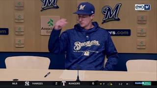 Counsell jokes about getting tossed from Brewers' 1-0 win