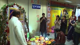 Saraswati Puja 2014 Part 2 Anjali