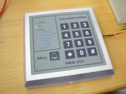 Rfid access control ad2000-m user manual