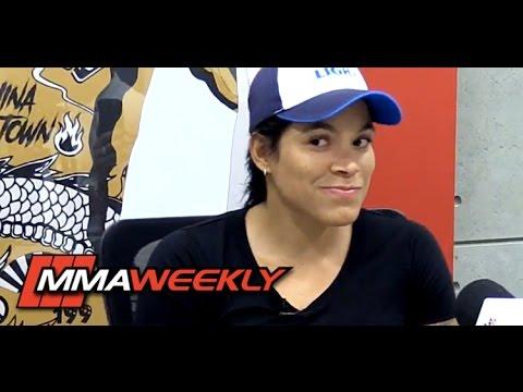 Amanda Nunes on UFC 213 Main Event: 'I Know, but I Can't Say'