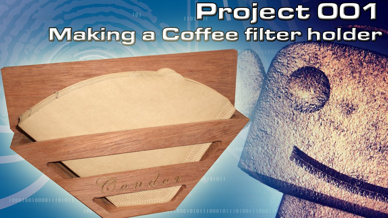 A Coffee Maker Has A Filter Holder : RCNC Projects 01 : Making a coffee filter holder - YouTube