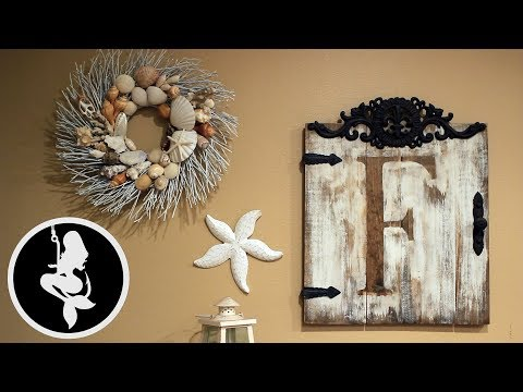 How To Decorate Your Home With Sea Shells (Easy DIY Deco Project)