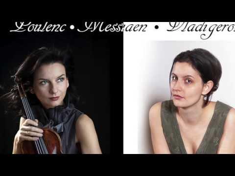 Teodora Sorokow & Ruzha Semova - F. Poulenc Sonata for Violin and Piano - Allegro con fuoco