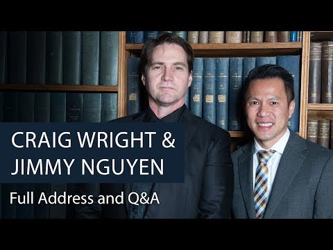 Dr Craig Wright & Jimmy Nguyen | Bitcoin And Blockchain | Oxford Union
