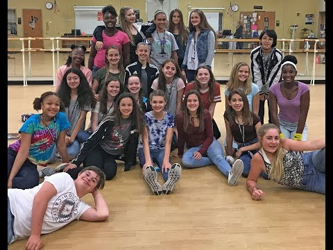 2018 - LaVilla School of the Arts -    8th grade banquet - Dance Department