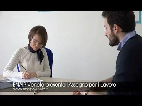 Enaip Veneto presenta l'Assegno per il Lavoro (2018)
