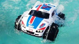 Плавающая Машинка Видео для Детей RC Swimming Car Video For Kids(Всем привет! Сегодня у нас на обзоре интересная машинка на радиоуправлении, которая умеет плавать по воде...., 2016-07-14T11:05:38.000Z)