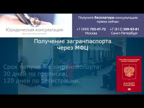 Как легко и быстро сделать и получить заграничный паспорт через МФЦ