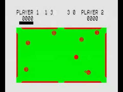 ZX Spectrum Pool 16K Game