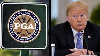 PGA Strips Trump's Bedminster Golf Club Of Championship Event
