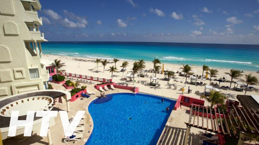 Nyx hotel cancun en canc n youtube for Top 5 all inclusive resorts
