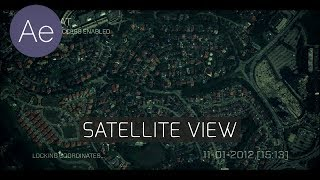 Video AE: Satellite View - After Effects Tutorial download MP3, 3GP, MP4, WEBM, AVI, FLV Juli 2018