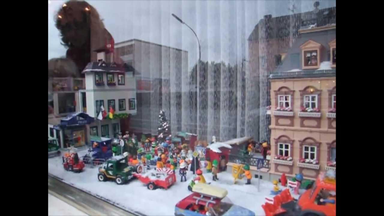 Playmobil Weihnachtsmarkt