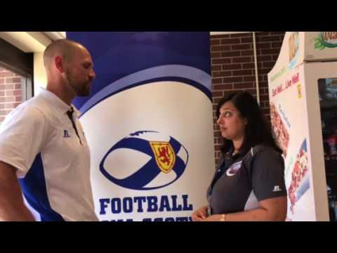 Postgame interview with Nova Scotia Head Coach Bryce Fisher